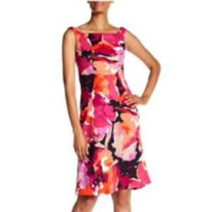 NWT TRINA TRINA TURK Roble Watercolor Dress